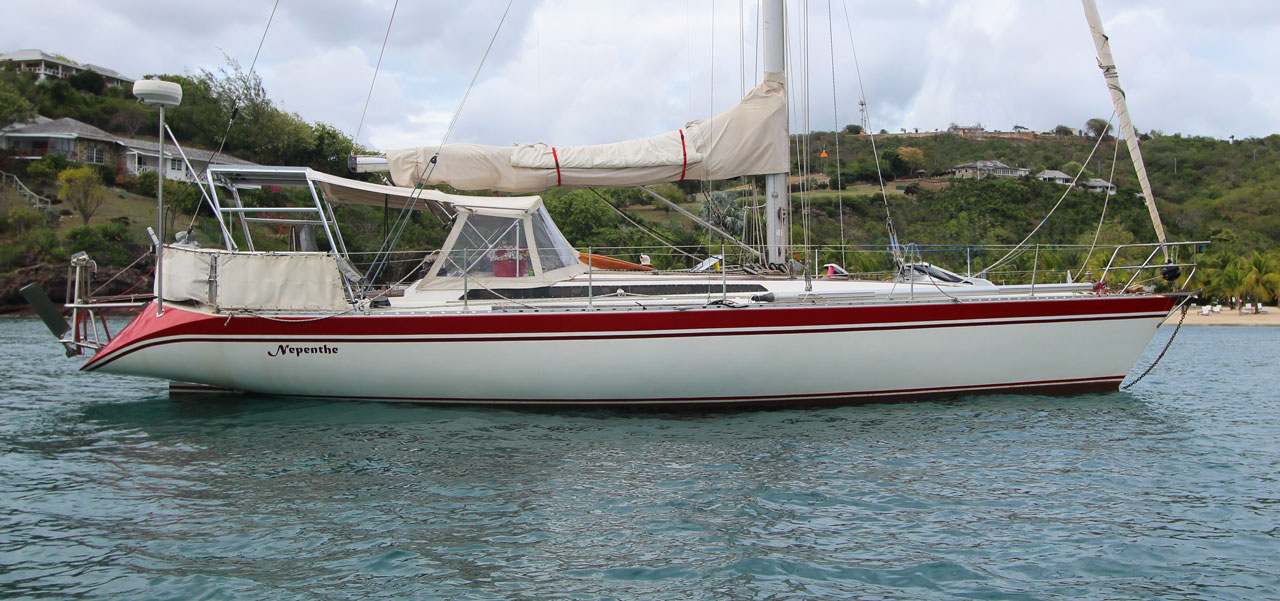 1983 Oyster 43 performance cruiser