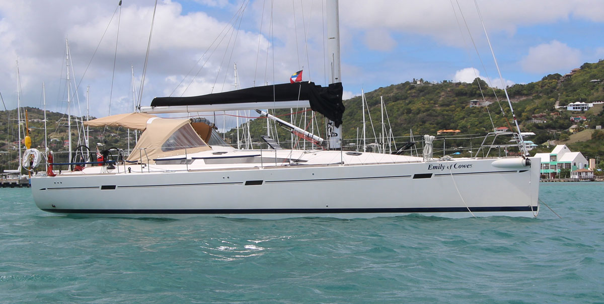 2007 Elan 450 performance cruising yacht