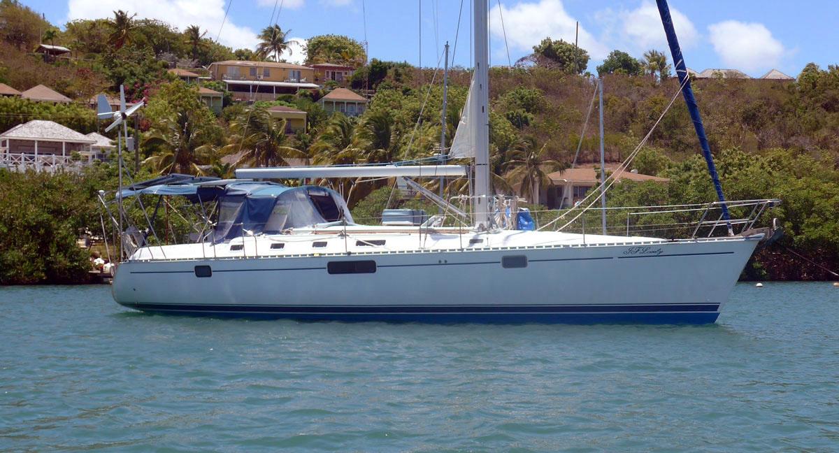 1992 Beneteau Oceanis 440 cruising yacht