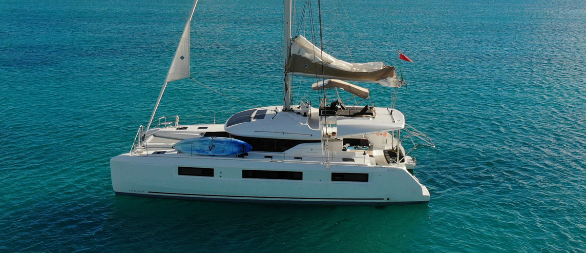 Lagoon 50 catamaran 2020